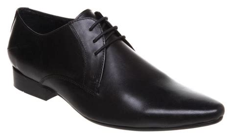 black leather boots for mens black leather shoes ebay