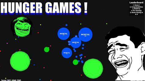 mod hunger games agar io agario hunger games gameplay agar mortal youtube