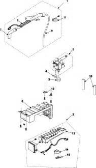 maker diagram parts list for model rs255basbxaa samsung parts refrigerator parts