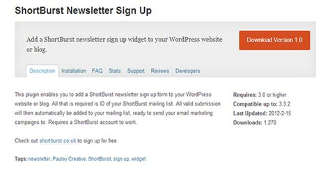 35 Top Wordpress Newsletter Plugins Wp Template Sign Up For Our Newsletter Template