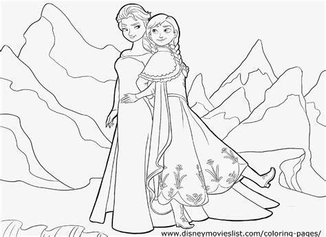 elsa and anna coloring book pages december 2014 free coloring sheet
