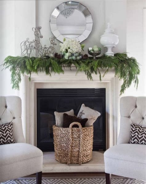 Garland For Fireplace Mantel by Greenery That Isn T Your Tree
