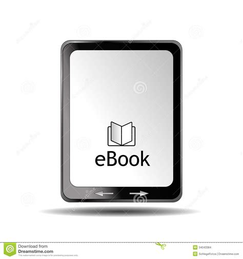 lit format ebook reader ebook reader black stock images image 34043384