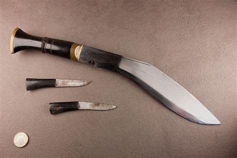 khukri blade myblades knife showcase 187 napalese khukri