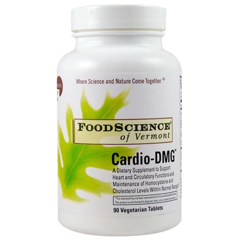 Suplemen Dmg cardio dmg 90 tabs foodscience of vermont all vitamins supplements