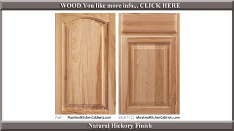 hickory kitchen cabinet doors 513 hickory cabinet door styles and finishes