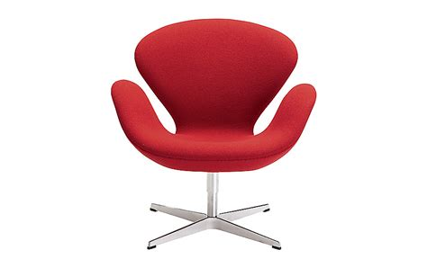 Classic Upholstery Fabric Swan Chair Design Within Reach