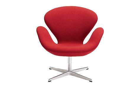 swan armchair swan chair design within reach