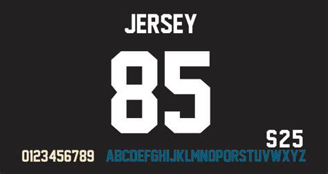dafont angka jersey m54 font dafont com