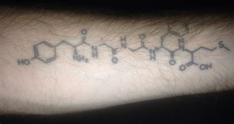 runners high tattoo the chemical formula for quot runner s high quot how cool is that