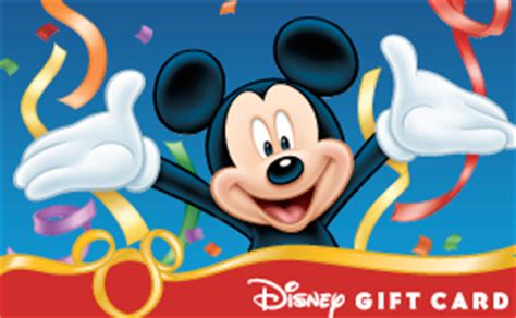 Disney Vacation Gift Card - three tips from mouse misers that will save you money on your next disney vacation