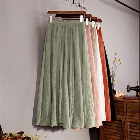 get cheap cotton skirts aliexpress