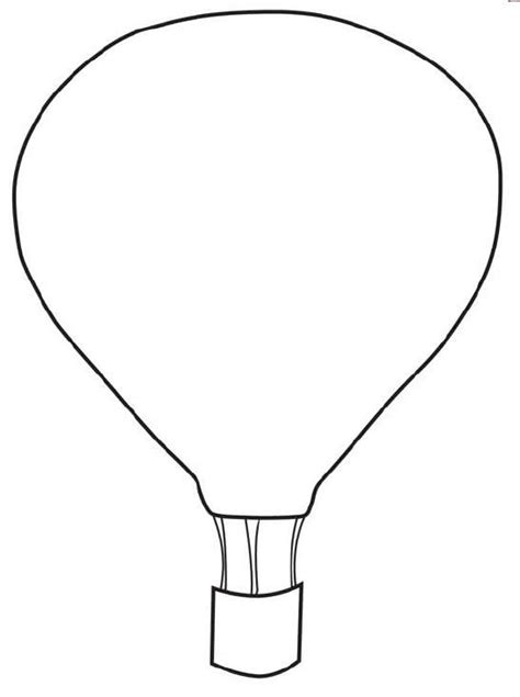 air balloon template air balloon template printable my