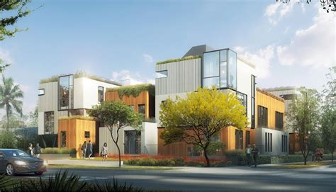 Courtyard Housing In Los Angeles Pdf Contemporary Courtyard Apartments Coming To