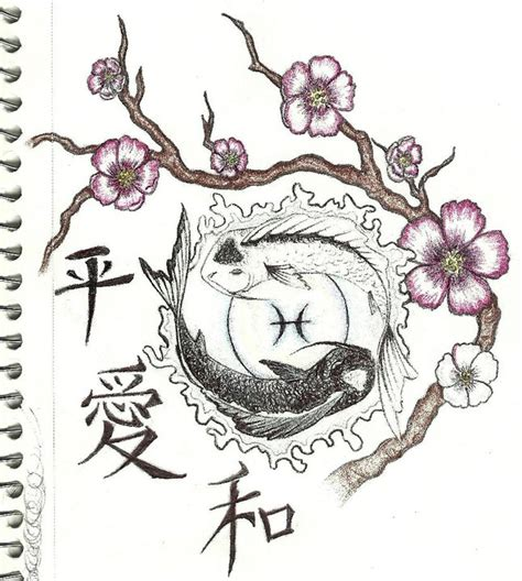 tattoo zodiac flower designs pisces birth flower www imgkid com the image kid has it