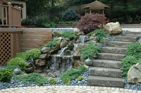 backyard pondless waterfalls landscaping the connection between contemplation scapes and well being
