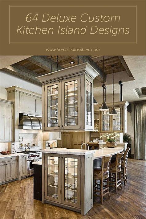Custom Kitchen Island Design by 3644 Best Kitchen Ideas Images On Pinterest Kitchen