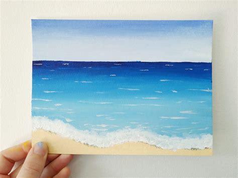 watercolor tutorial beach easy beach watercolor paintings mafiamedia