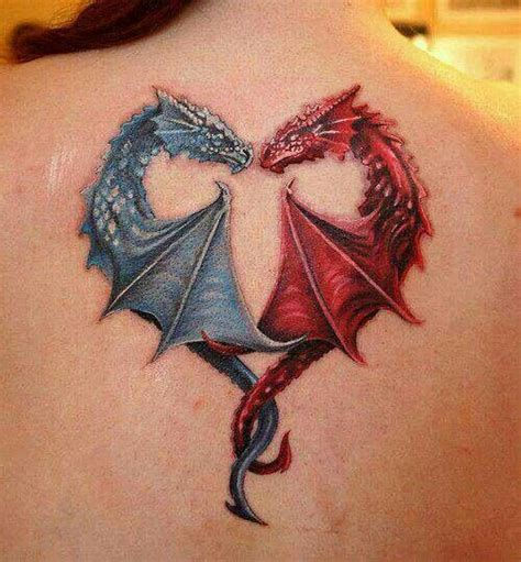 fire and ice tattoo tats