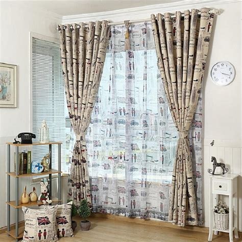 tende vintage vintage sheer curtains promotion shop for promotional