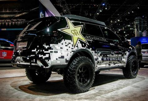 Lifted Hyundai Santa Fe by 10 Badass Trucks From The 2017 Chicago Auto Show