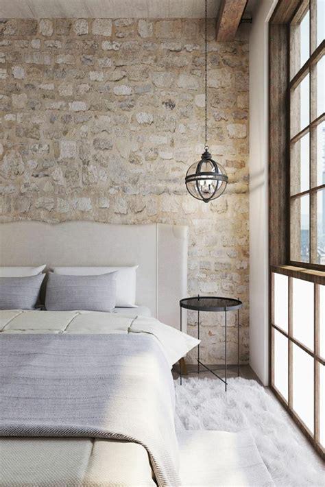 ideas de decoracion  pared de piedra  ladrillo