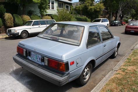 Old Parked Cars Magical 1986 Street Corner Unites Nissan