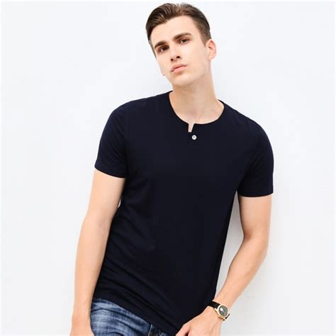 Sale O Neck Slim Shirt buy fashion brand clothes shirt o neck slim
