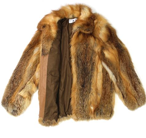 fox fur jacket on shoppinder