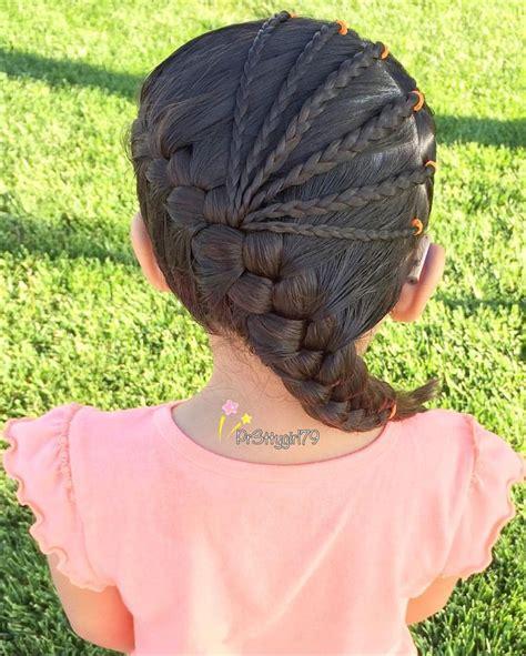 herringbone accent braids children s hairstyles 99 best images about peinados de ni 241 as on pinterest kid