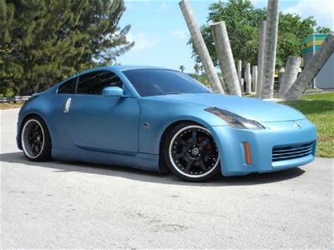 matte blue nissan 350z purchase used custom 350z 6 spd manual matte blue paint