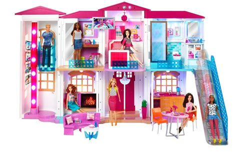 barbie dream house to buy barbie smart dream house voice activated technological