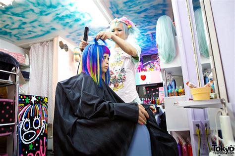 black hair salons in tokyo viva cute candy kawaii colourful hair salon in tokyo
