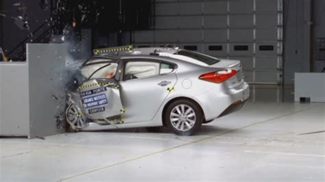 car crash test terrifying car crashes new crash test revealed by