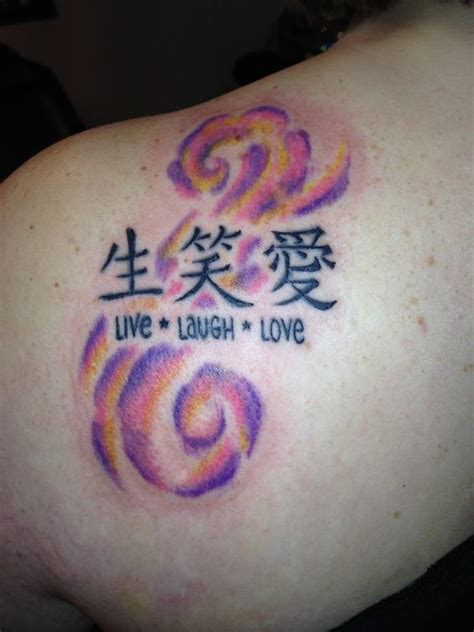 tattoo love chinese colors chinese tattoos and love on pinterest
