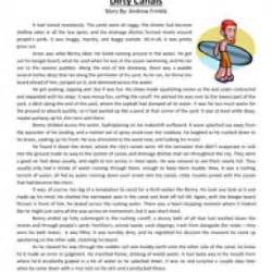 sixth grade reading comprehension worksheet dirty canals