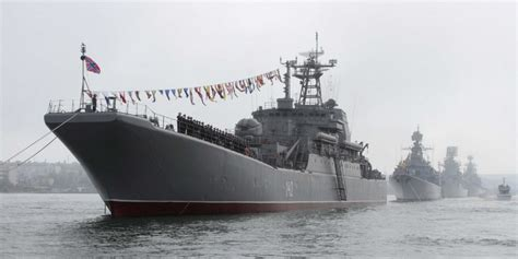 Lasika Anti Air Black List russia is sending the largest naval surface deployment