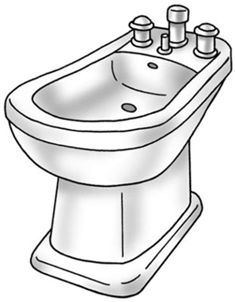 Bidet Drawing by How To Install A Bidet Dummies
