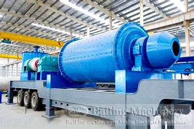 mobile a ore mobile ore beneficiation plant bailing 174 machinery