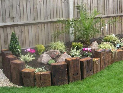 Wooden Sleepers Garden Edging by Top 28 Surprisingly Awesome Garden Bed Edging Ideas Amazing Diy Interior Home Design
