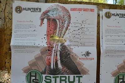 pattern your shotgun for wild turkey the wild life patterning your turkey rig