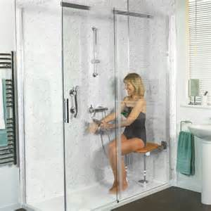 Sterling Bath Shower Units easy access shower installation bridport
