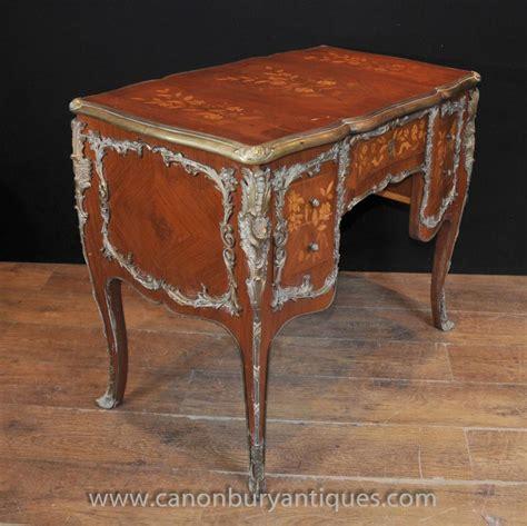 louis writing desk antique louis knee hole desk writing bureau 1920