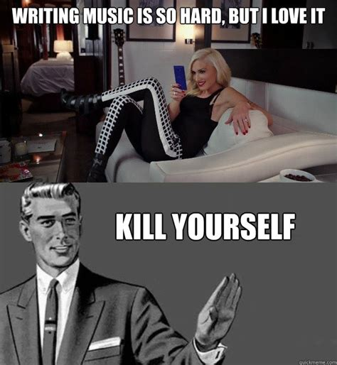 Meme Yourself - writing music is so hard but i love it kill yourself