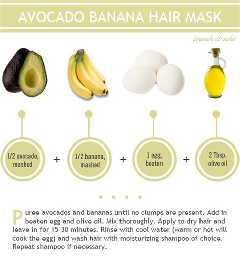 7 Best Home Made Hair Masks by Avocado Banana Hair Mask Pictures Photos And Images For