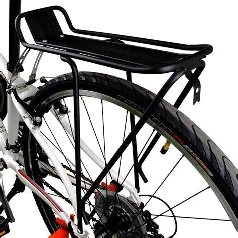 Rear Rack Bicycle by Bv Bike Rear Rack Aluminum Carrier Cycling Cargo Racks Bicycle Storage New Ra18 Ebay