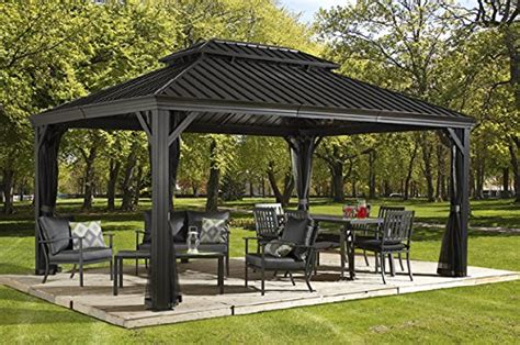 Hardtop Gazebos: Best 2018 Choices, Sorted by Size