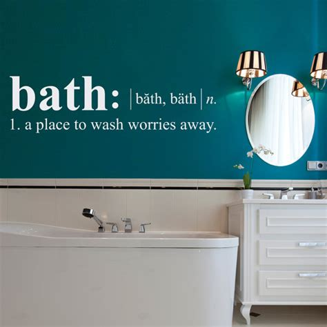 Dictionary Bathroom by Bath Definition Wall Decal Dictionary Definition Decal