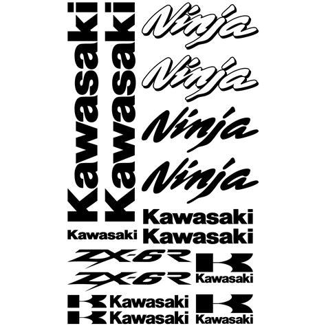 Felgenaufkleber Zx6r by Wandtattoos Folies Kawasaki Zx 6r Aufkleber Set