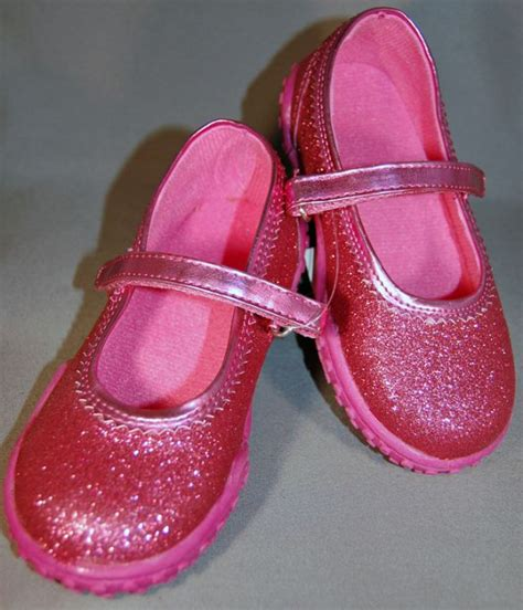 children s pink glitter shoes